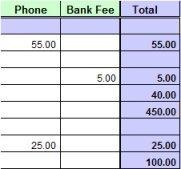Excel Cash Book