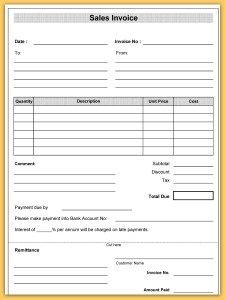 Invoice Book Template Horetskatk - Template for invoice free verizon online store