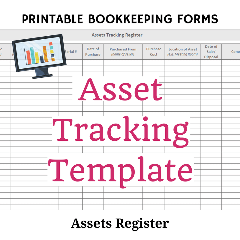 Printable Asset Tracking Template