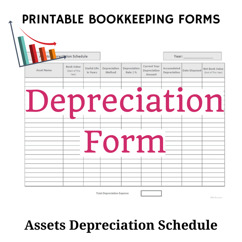 Depreciation Form