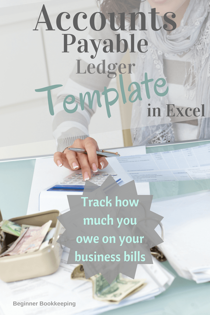 Accounts Payable Ledger in Excel