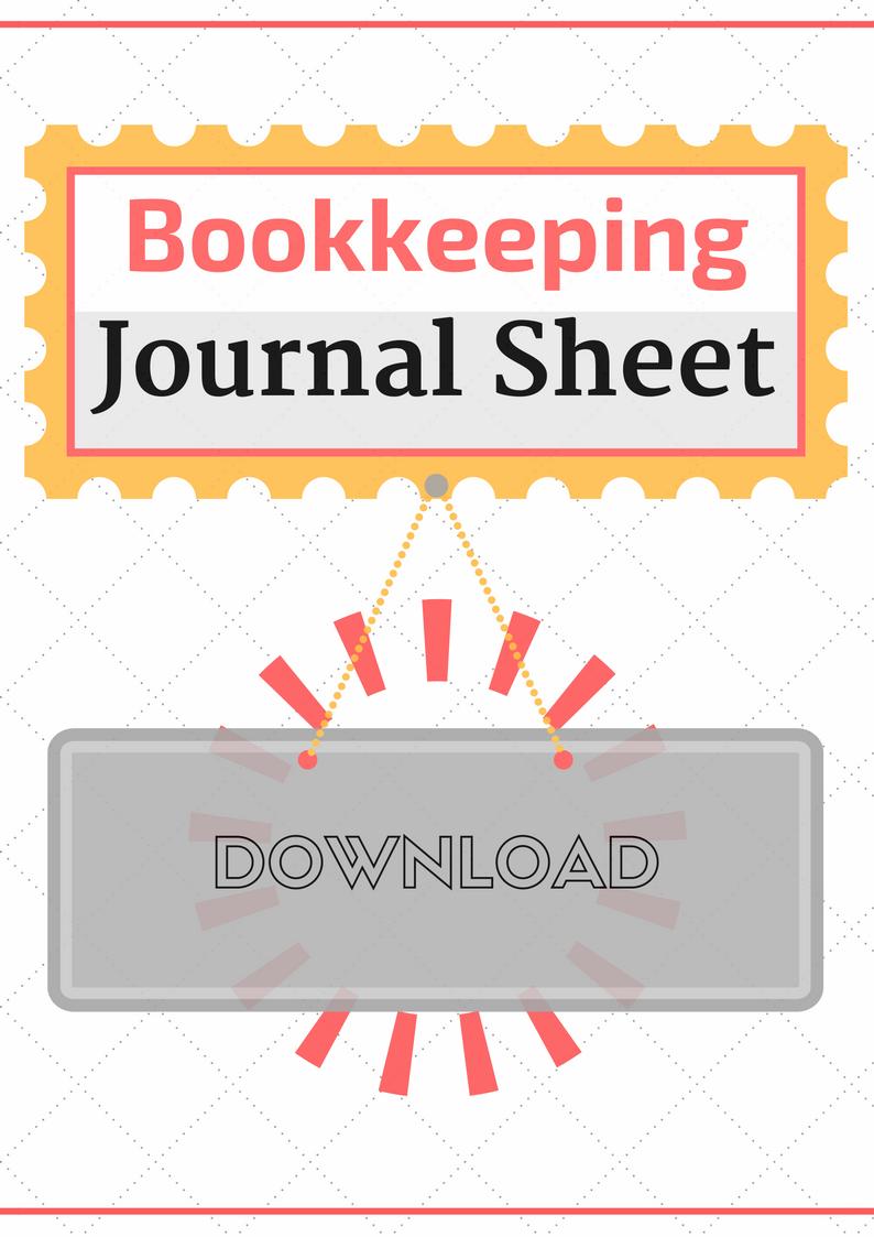 Journal Sheet Template