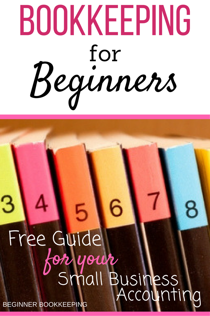 Free Bookkeeping Guide For Beginners