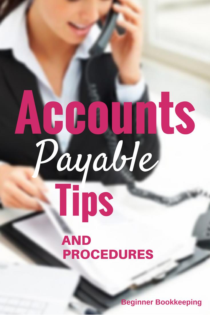 Accounts Payable Tips