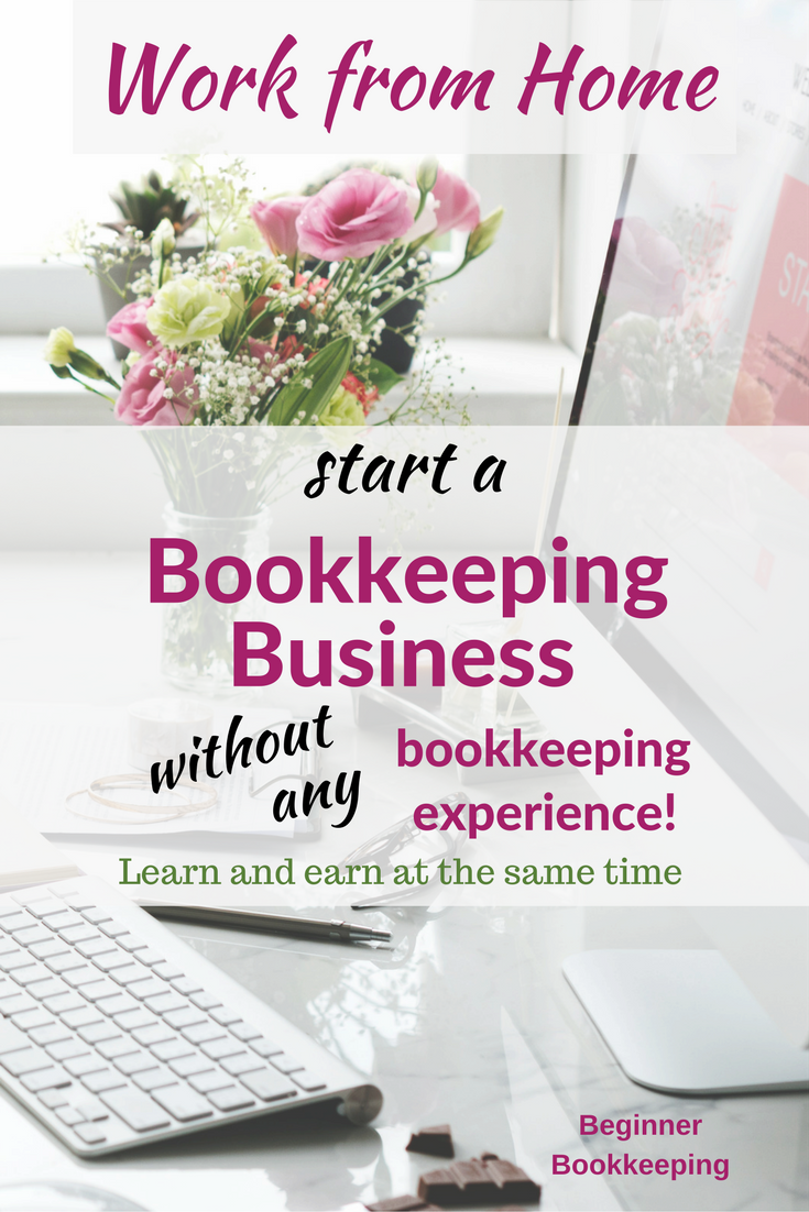 Work from Home Bookkeeping Business