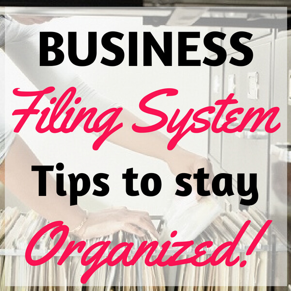 Business Filing System
