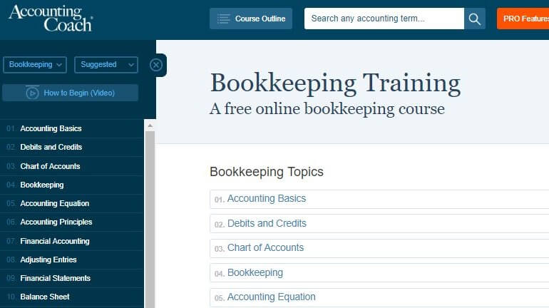 free online bookkeeping courses with certificates uk