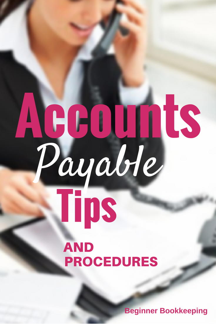 accounts payable procedures