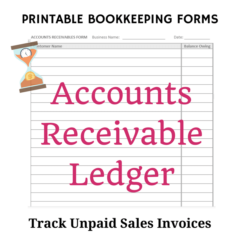 Accounts Receivable Ledger