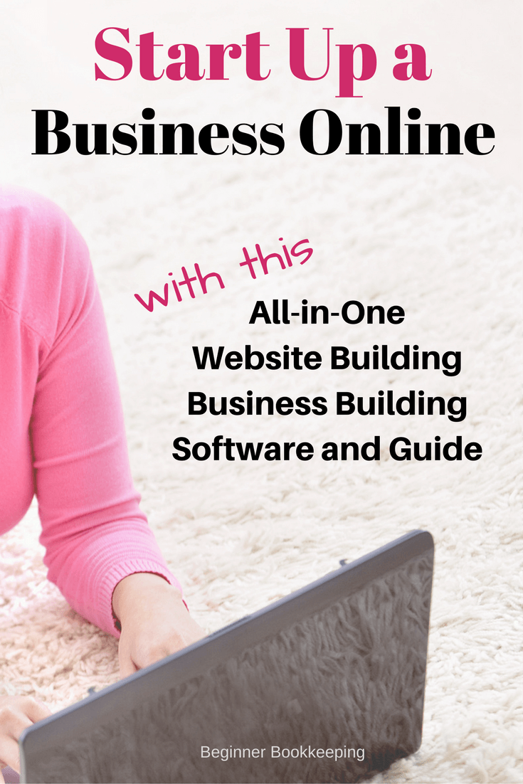 build a website online to start a work at home business always up dated