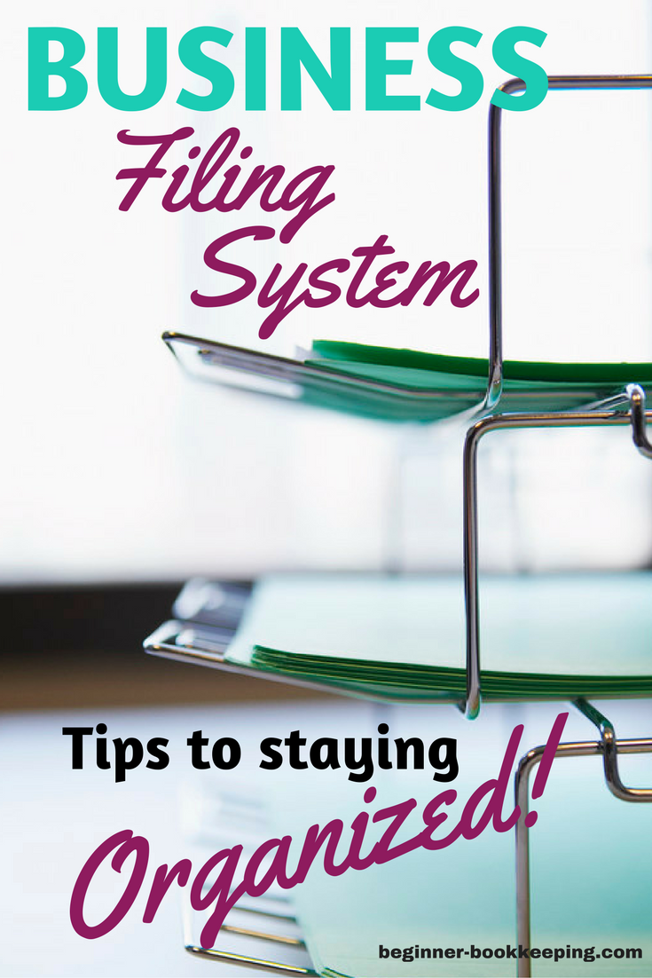 Business Filing System Tips for Paper Organization