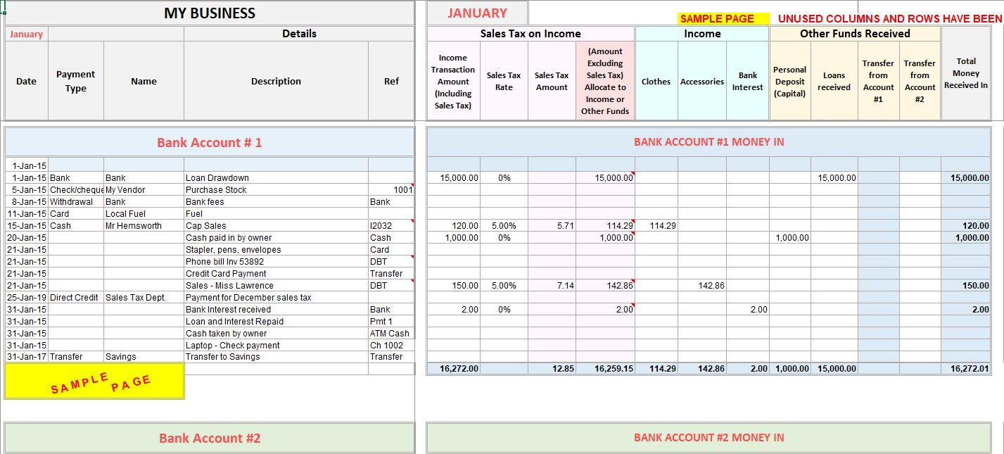 Sales Excel Template from www.beginner-bookkeeping.com