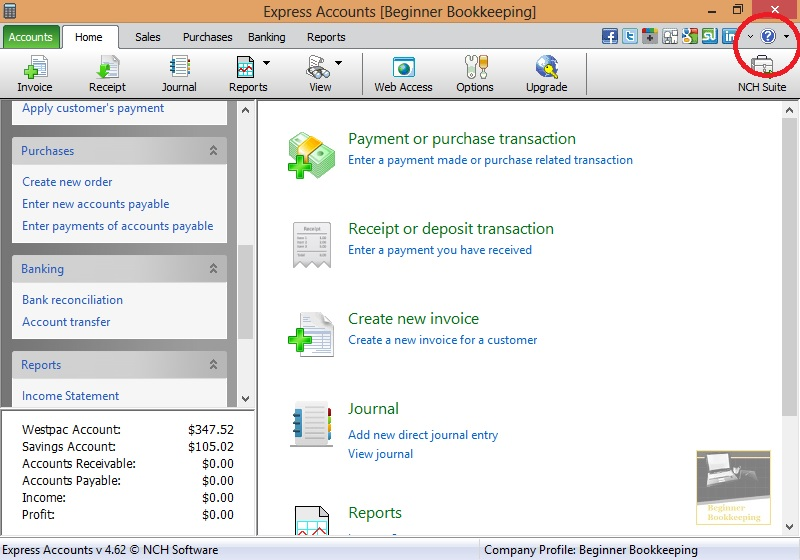Bookkeeping Software Free And Easy To Use - Bookkeeping and invoice software