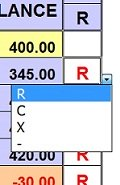 Example of reconciling the cash book totals to the bank statement totals to make sure they match.