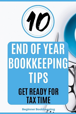 End of Year Bookkeeping