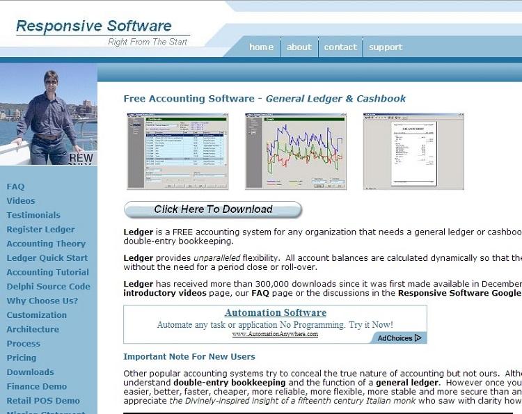 Free Ledger Software