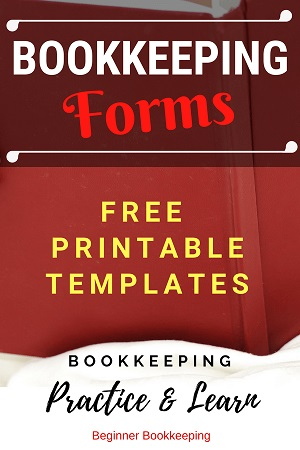 Bookkeeping Forms